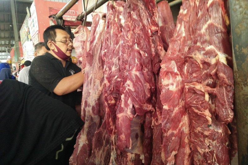 Harga daging di Bandarlampung Rp130 ribu/kg