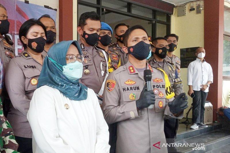 Kapolres Bogor ingatkan soal kasus wabah COVID-19 di India