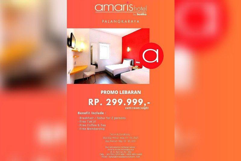 Nginap di Hotel Amaris Palangka Raya hanya Rp299.999 per malam