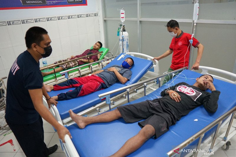 Ratusan warga binaan Lapas Gorontalo keracunan makanan
