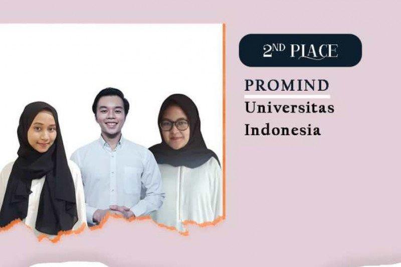 Mahasiswa Prodi Humas Vokasi UI juara Comminfest 2021