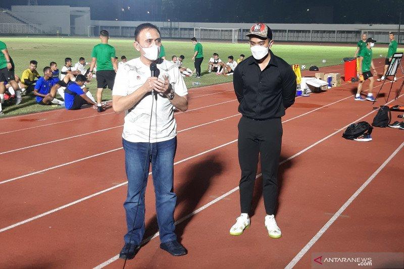 Ketum PSSI minta pemain timnas Indonesia 'siap mati' saat tarung di lapangan