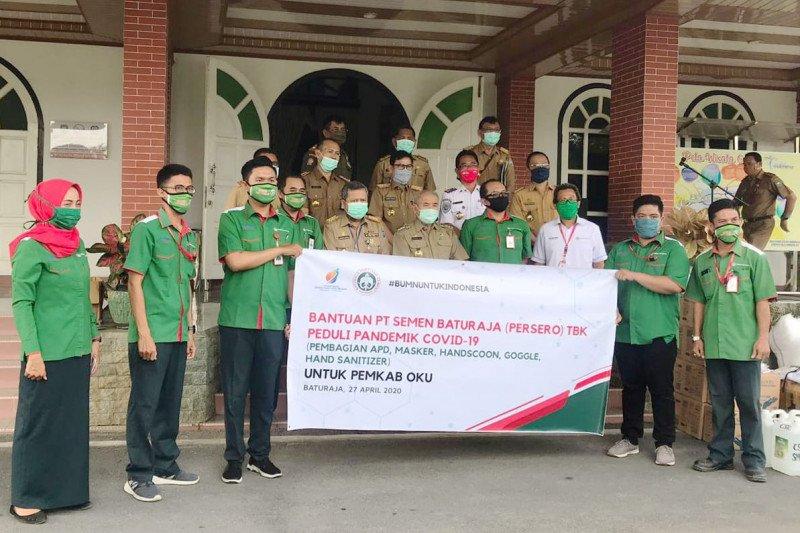 Semen Baturaja salurkan dana CSR Rp10,7 miliar di Sumsel dan Lampung