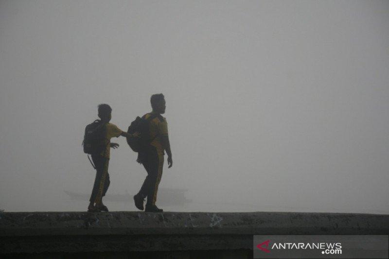 Telaah - Ancaman derita akibat bencana kabut asap di tengah pandemi