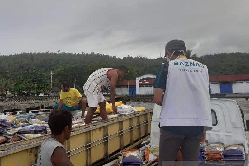 Baznas salurkan paket Lebaran ke mustahik di perbatasan Sulut