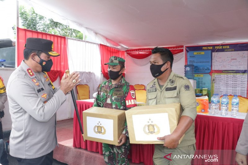 Kapolda cek pelaksanaan Operasi Ketupat Samrat di Bitung