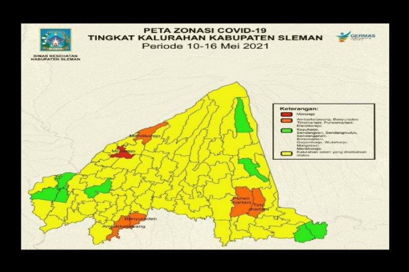 Dinkes: Mayoritas kelurahan di Sleman masuk zona kuning COVID-19