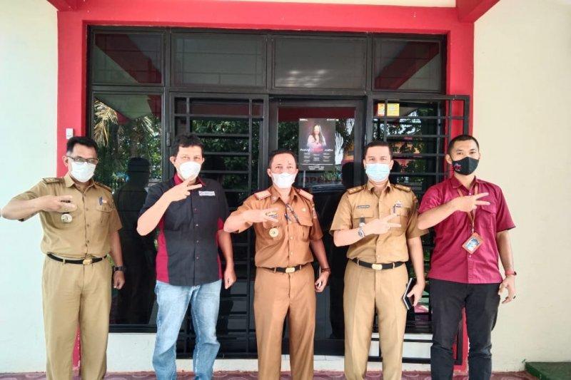Kadiskomifotik Pemprov Lampung anjangsana ke Kantor ANTARA