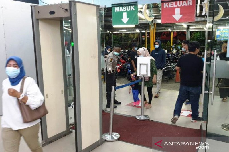 Palembang Square hadapi peningkatan pengunjung  perketat prokes