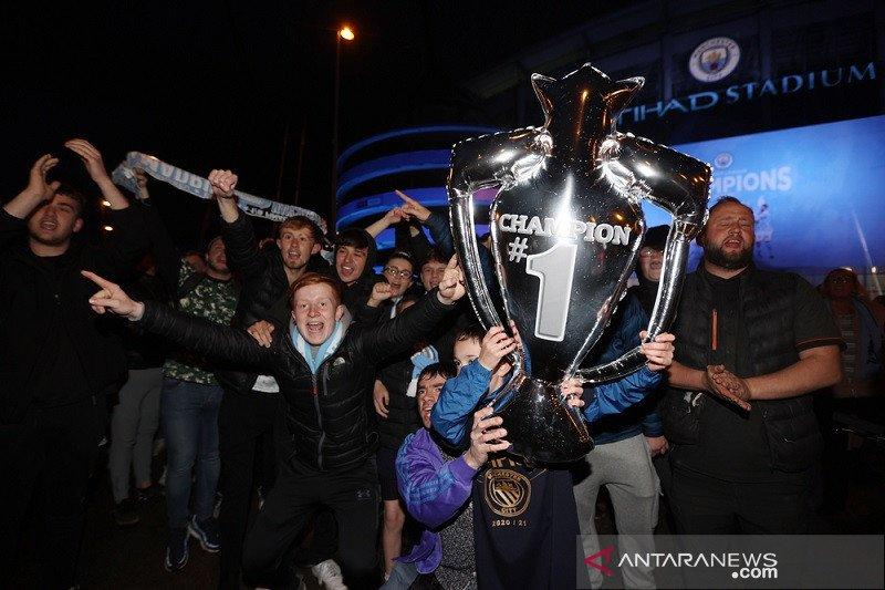 Tujuh rekor yang hiasi gelar juara Man City musim ini