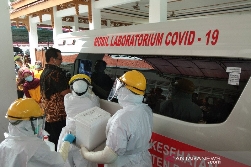 Pasien COVID-19 di Bantul bertambah 72 orang