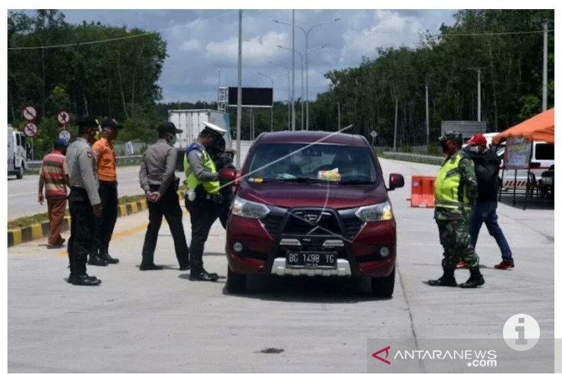 Polda Lampung telah periksa 26.622 unit kendaraan pada Operasi Ketupat