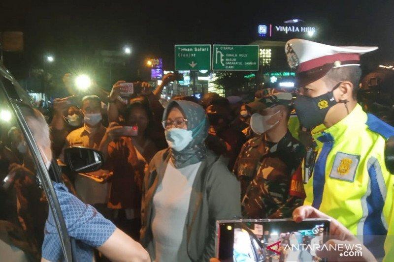 Satgas COVID Bogor putar balik 7.727 kendaraan terindikasi mudik