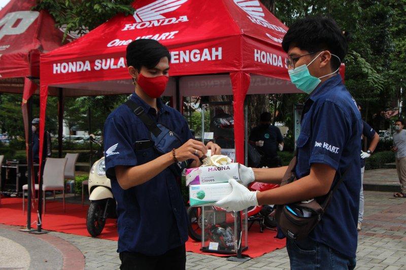 Honda gelar 'safety check' dan ganti oli gratis di Palu