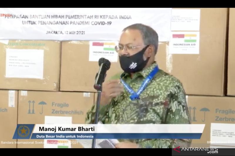 India sampaikan apresiasi atas bantuan dari Indonesia
