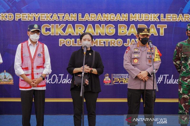 Ketua DPR minta pemerintah tunda kedatangan WNA selama larangan mudik