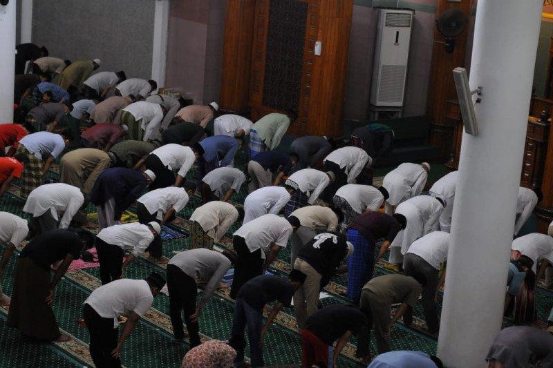 Polisi sebut ada 80 titik pelaksanaan Shalat Idul Fitri di Kota Bandarlampung