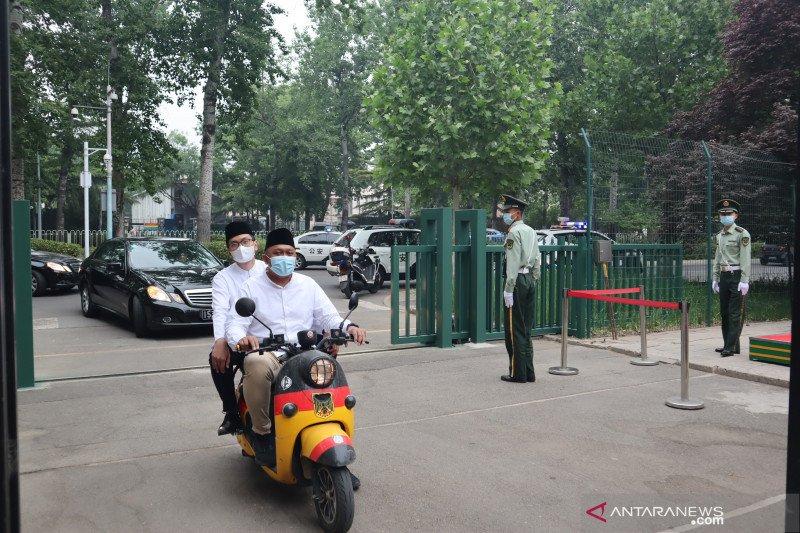 KBRI Beijing leluasa gelar shalat Idul Fitri 1442 H