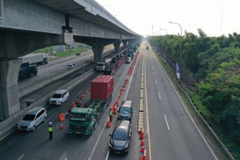 H-1 Lebaran, 512.876 kendaraan tinggalkan wilayah Jabotabek