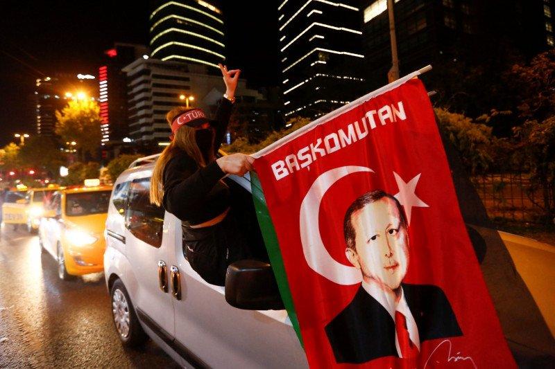 Erdogan kutuk kekuatan Barat karena tak bertindak lawan Israel