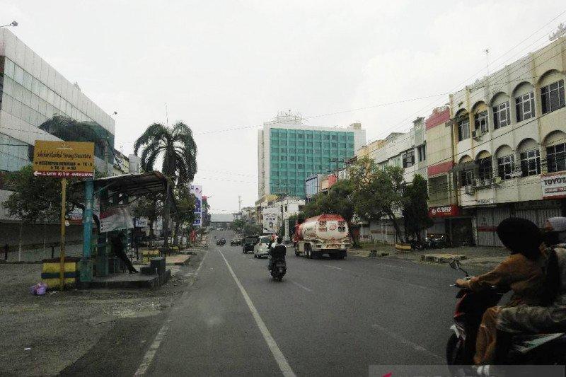 Lebaran, Jalan Kartini lengang