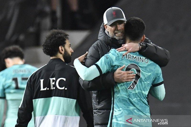 Klopp tak pernah ragukan mental dan karakter Liverpool