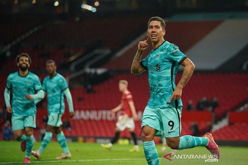Liverpool taklukkan Old Trafford, jaga asa empat besar