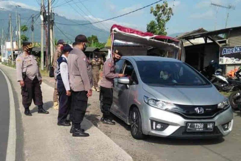 Polres Majalengka: 1.028 kendaraan pemudik diputar balik