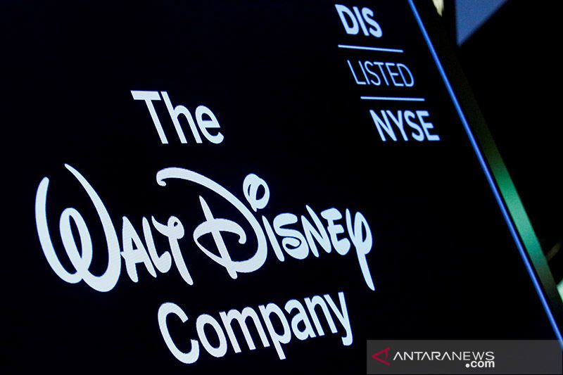 Saham Disney jatuh akibat pertumbuhan layanan 'streaming' melambat