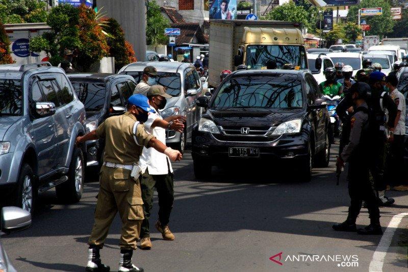 Dishub Surakarta catat kenaikan lalu lintas hari pertama Lebaran