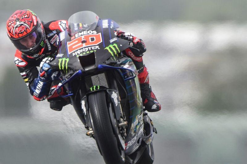 Fabio Quartararo raih pole position GP Prancis
