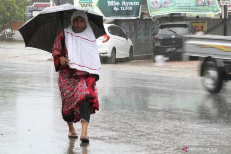 Senin, BMKG prediksi Lampung berpotensi alami hujan lebat