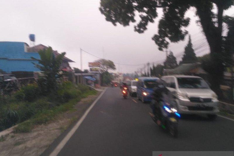 Jalur Puncak-Cianjur ditutup lagi antisipasi antrian kendaraan