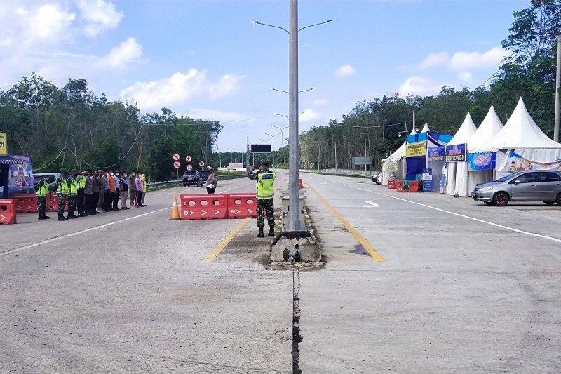 Dua hari usai Lebaran, Jalan Tol Trans Sumatera sepi kendaraan