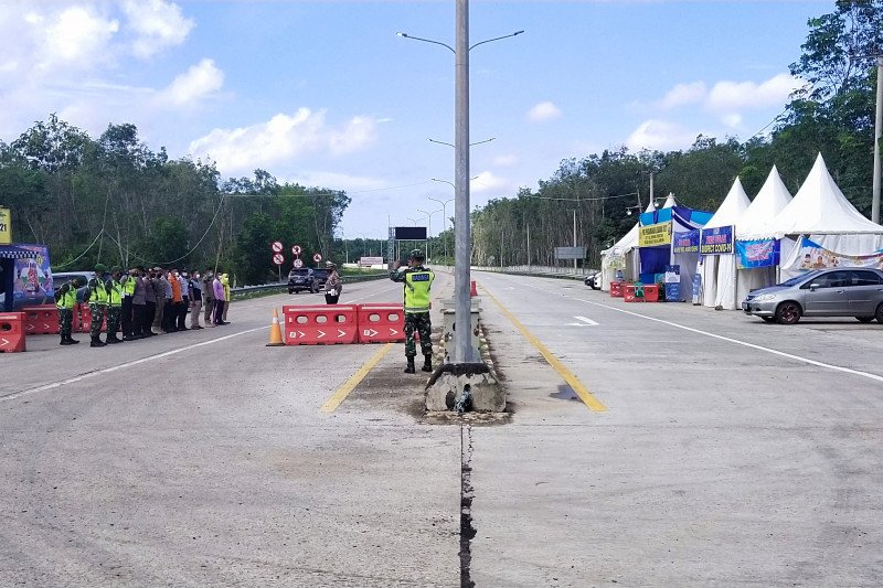 Dua hari usai Lebaran, Tol Trans Sumatera sepi (Antaralampung/Raharja)
