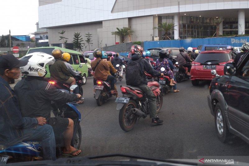Puluhan pengendara di Cianjur diputar balik karena langgar prokes