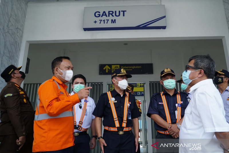 Stasiun Garut sudah 100 persen siap beroperasi untuk kereta ke Bandung
