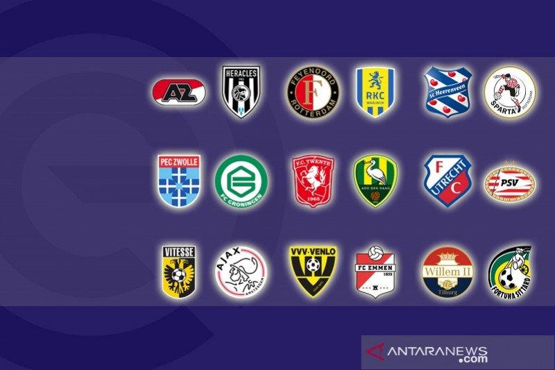 Apa saja yang diperebutkan Liga Belanda di pekan pemungkas?