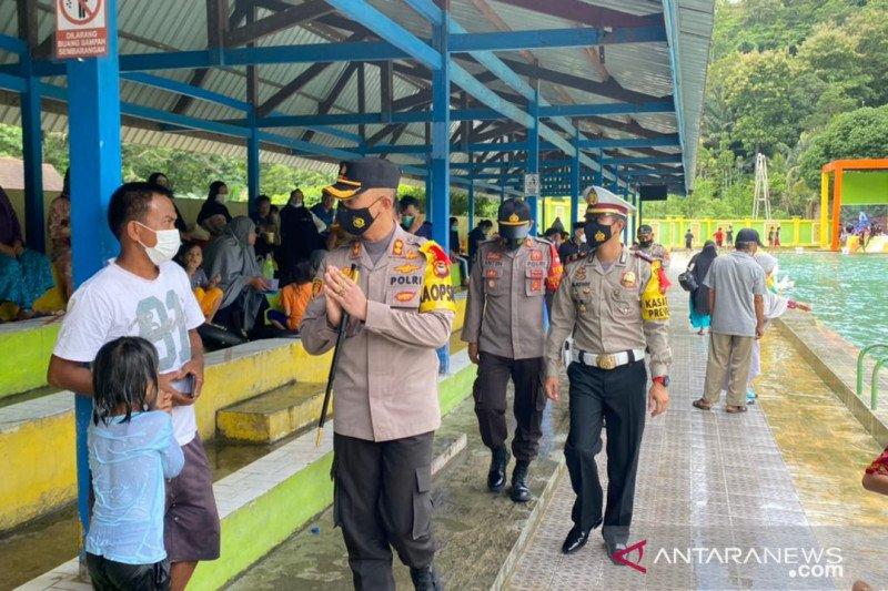 Satgas COVID-19 Enrekang berikan teguran keras kepada pengelola tempat wisata