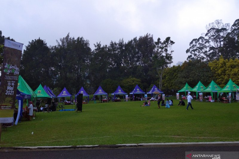 Kebun Raya Cibodas rangkul UMKM buka gerai saat libur Lebaran