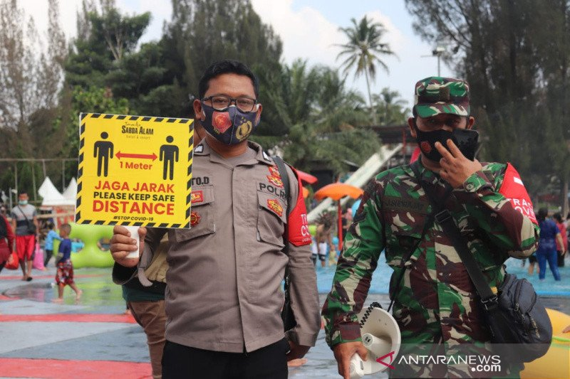 Satgas COVID-19 Kabupaten Garut tutup wisata air panas alami Cipanas