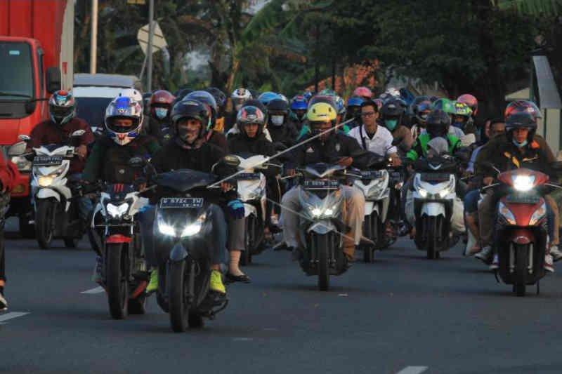 Arus balik libur Lebaran lewati Cirebon landai