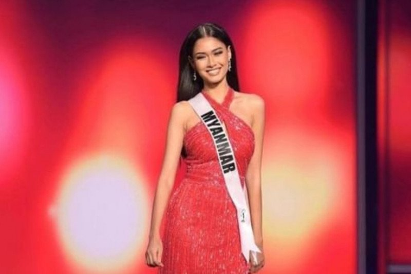 Miss Myanmar Thuzar Wint Lwin raih juara kontes kostum Miss Universe
