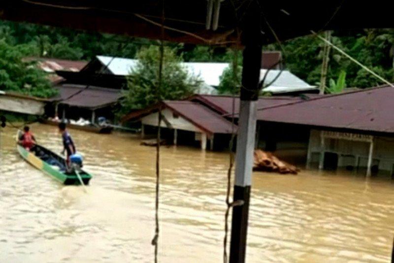 Banjir di sejumlah daerah pedalaman Kaltara