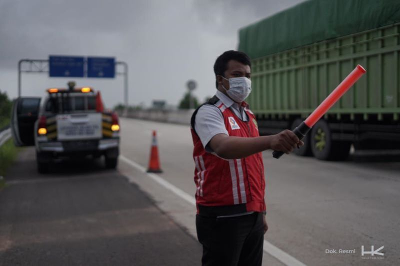 Lonjakan arus balik di Tol Trans Sumatera diprediksi  Minggu 16 Mei