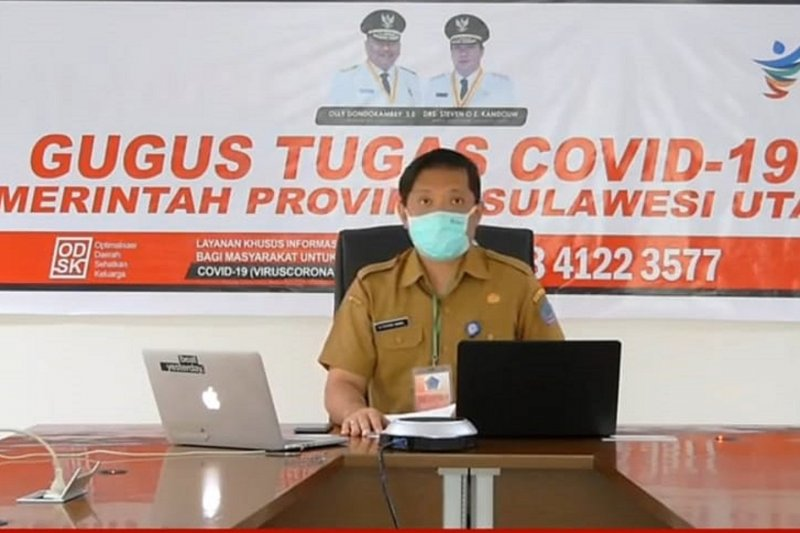 Kasus aktif COVID-19 di Sulawesi Utara tinggal 4,17 persen