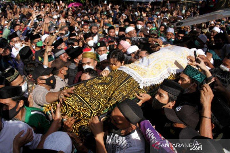 Pemakaman Ketua MUI Sulsel di Kabupaten Maros