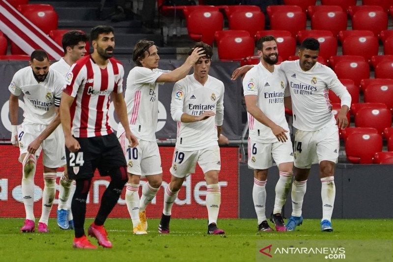 Real Madrid tetap bersaing hingga pekan terakhir untuk juara La Liga