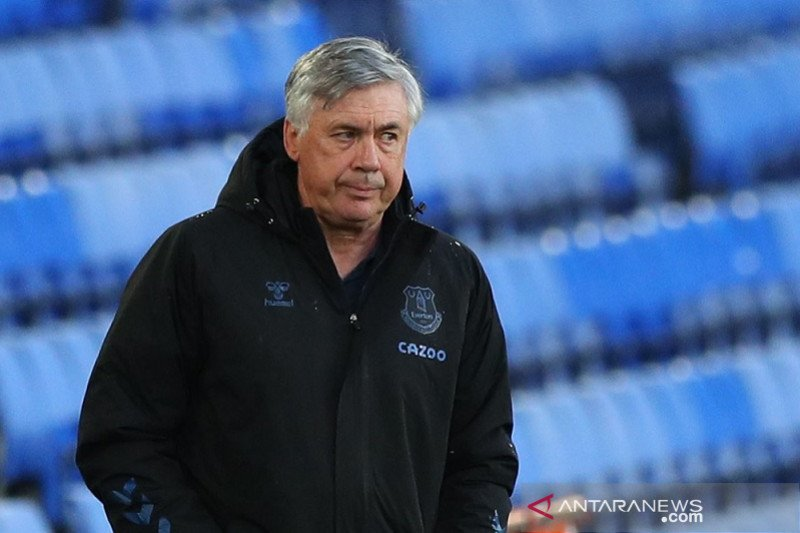 Dibekuk tim juru kunci, Ancelotti: Everton patut malu