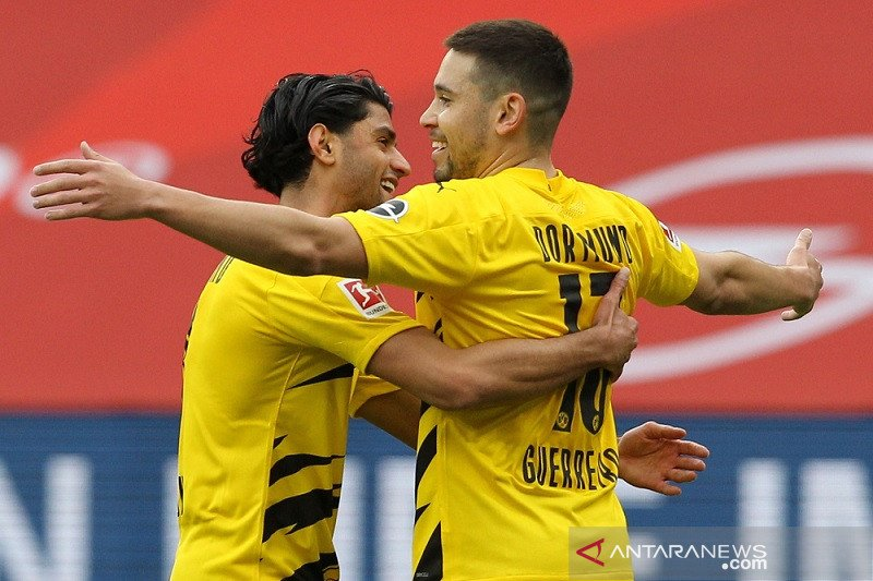 Liga Spanyol - Dortmund kunci empat besar usai menang di Mainz
